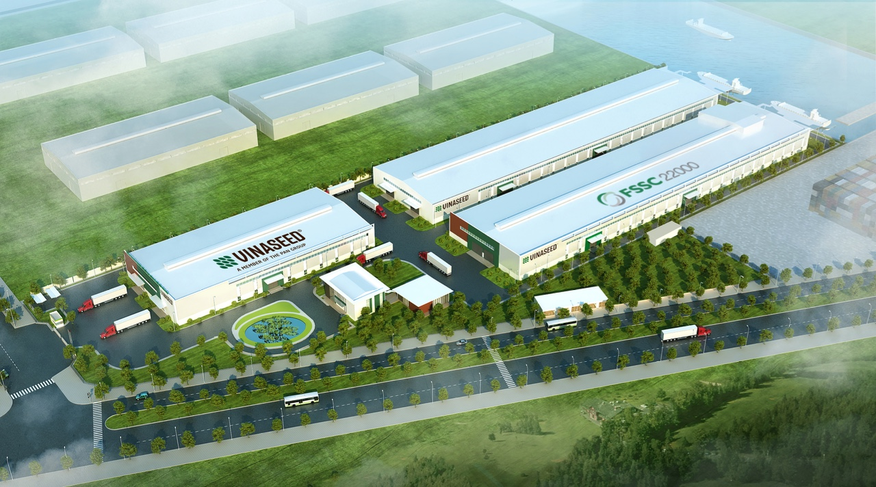 The inauguration ceremony of the most modern industrial center for processing seed and agricultural products