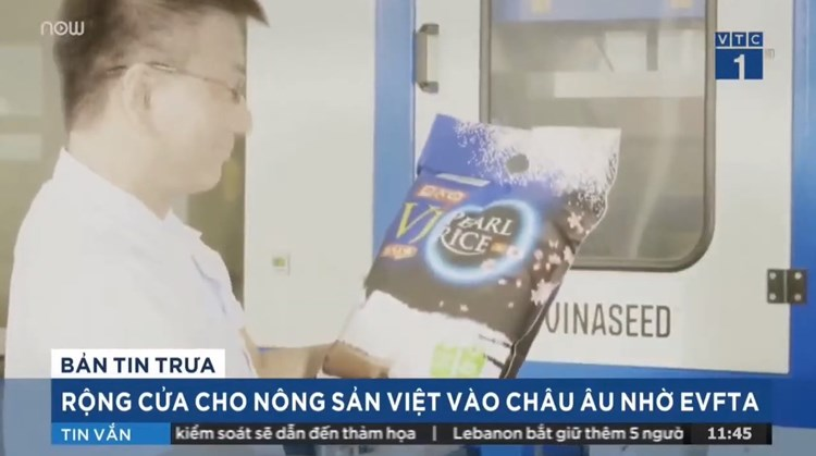 [VTC1 – Noon News] More opportunities for Vietnamese Agricultural products to enter Europe thanks to EVFTA